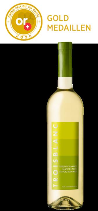 Gewinner Gold-Medaille Grand Prix du Vin Suisse